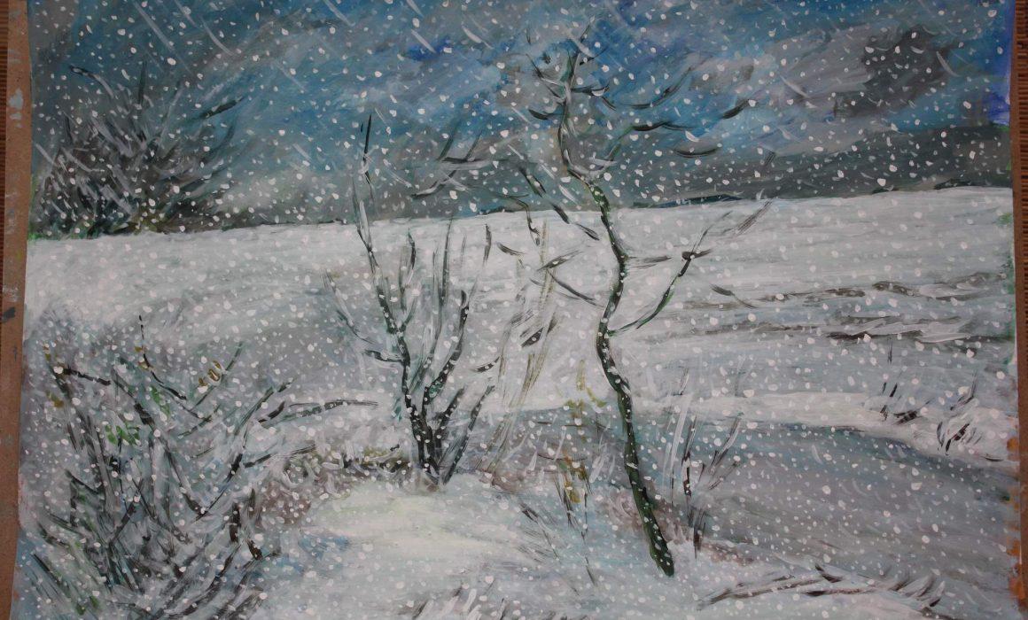 Zimní přeháňka (Věje), 2018 - Tomáš Herna